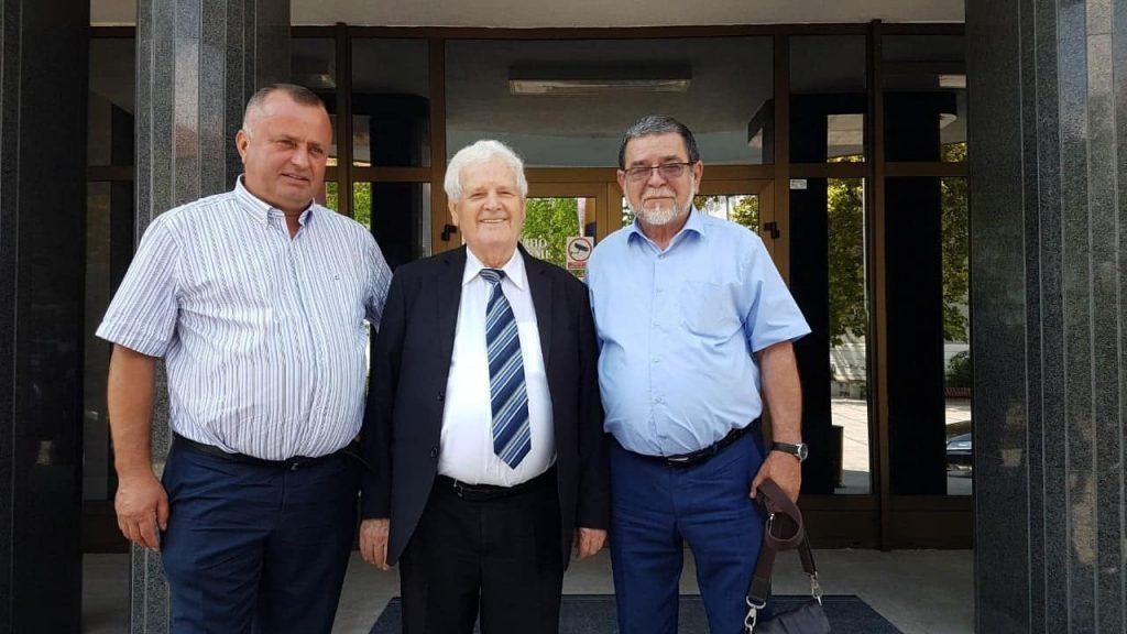 Načelnik Abdić sa Načelnikom i predsjednikom Skupštine Derventa